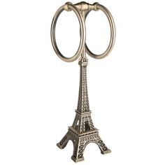 Bronze Eiffel Tower Towel Holder ($25) ❤ liked on Polyvore featuring home, bed & bath, bath, bath accessories, paris bathroom accessories, bronze bathroom accessories, standing towel holder, bronze bath accessories and eiffel tower bathroom accessories