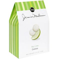 Janis & Melanie Key Lime Cookies, 2.5 oz, (Pack of 12) for $28