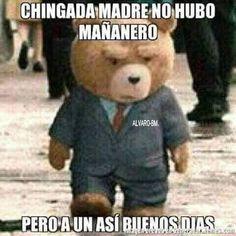 #buenosDias Mexican Funny Memes, Mexican Humor, Funny Spanish Memes, Spanish Humor, Wtf Funny, Funny Jokes, Crazy Funny, Funny Shit, Cheesy Jokes