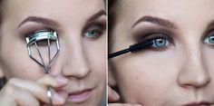 by Mariela Sarkima Smoky Eyes, Curlers, Makeup Ideas, Hair Makeup, Make Up, Chocolate, Beauty, Jewelry, Eggs