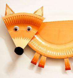 Egy olyan aranyos kreatív ötletet keresel, amit a legapróbb kreatív kezekis egyszerűen elkészíthetnek őszre dekorációként? Ezt a szuper ötletet, a papír tányérból készült rókát imádni fogod! Ezek a kedves papír tányér rókapillanatok ...