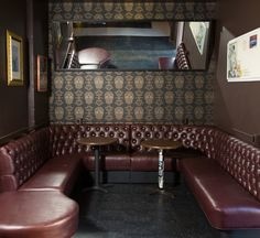 Pop's San Francisco: lounge -  Designer: zero ten design -   Image courtesy Molly DeCoudreaux