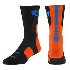 Nike KD Elite Basketball Crew Socks Kevin Durant Kids Small Adult Boys Men XL | eBay- GABE size 6.5