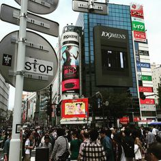STOP #shibuya #shibuyacrossing #toocrowded #tokyo #sticker #japan #graphicdesigner #渋谷 #東京 by tokyostranger