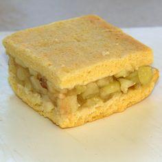 Recipe Print Apple Slice recipe - All recipes Australia NZ Apple Desserts, Apple Recipes, Sweet Recipes, Baking Recipes, Cake Recipes, Dessert Recipes, Apple Cakes, Fruit Recipes, Winter Desserts