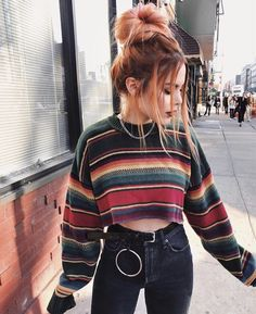 Grunge Clothing: 30 Cool and Edgy Grunge Outfits - Fashionistas What To Wear - Modetrends Grunge Fashion, Look Fashion, Street Fashion, Fashion Edgy, Fashion Black, Cheap Fashion, Indie Fashion Winter, Gypsy Fashion, Fashion Mode