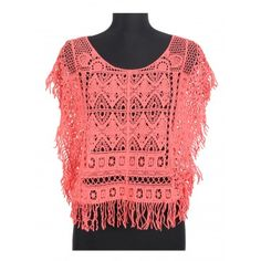 Bluza corai Crochet Top, Tops, Women, Fashion, Moda, Fashion Styles, Fashion Illustrations, Woman