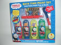 Baby Bath Toys - Pin it :-) Follow us .. CLICK IMAGE TWICE for our BEST PRICING ... SEE A LARGER SELECTION of  Baby Bath toys at  http://zbabybaby.com/category/baby-categories/baby-and-toddler-toys/baby-bath-toys/ - gift ideas, baby , baby shower gift ideas  - Thomas and Friends Bath Time Paint Set « zBabyBaby.com