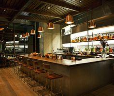 Top L.A. Restaurants: Hinoki & The Bird // outdoor patio is alluring on warm days