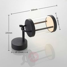 Lucande Caius LED outdoor wall light | Lights.ie