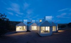 MOS architects develops modular element house for off-the-grid living