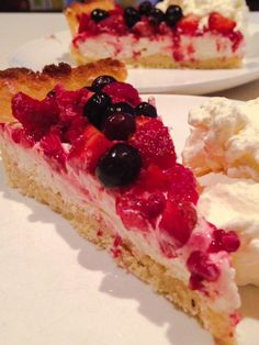 Lemon Berry Cheese Cake | Primal Life