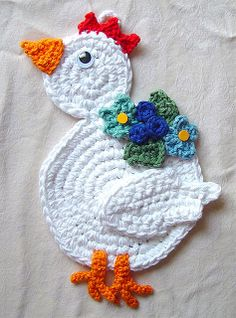 1000+ images about Crocheted chickens on Pinterest ...