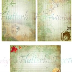 Note Cards, Witch, Fox, Printables, Green, Index Cards, Print Templates, Witches, Witch Makeup