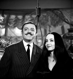mörtïċïä f. äddäms The Addams Family 1964, Addams Family Tv Show, Addams Family Costumes, Adams Family, Morticia And Gomez Addams, Day Of The Dead Artwork, Charles Addams, Dramas, Tv Movie