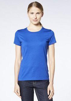 EXPAND Damen »Arbeits T-Shirt« für 12,95€. Kragenform: Rundhals, Ärmelabschlüsse, Aufhängebänder an innerer Seitennaht, Flaglabel an linker Seitennaht bei OTTO