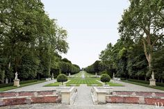 The storied 280-acre estate is just outside of Paris.