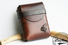 Shop for on Etsy, the place to express your creativity through the buying and selling of handmade and vintage goods. Custom Leather Belts, Leather Men, Leather Anniversary Gift, Anniversary Gifts, Leather Cigarette Case, Leather Projects, Flat Rate, 21 Days, Roman