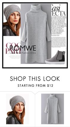 """Romwe 1"" by deyanafashion ❤ liked on Polyvore featuring Whiteley"