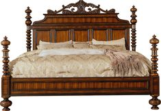 Lisbon King Canopy Bed