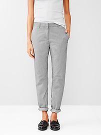 Gap Broken-in straight chambray pants
