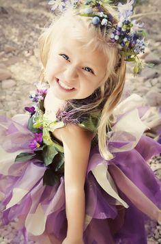boho, shabby chic, Bridesmaids, Summer, vintage , woodland, whimsical-bright, flower, flowergirl, girl, girls, purple, wedding