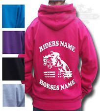 Absolutely Top Childrens Personalised Star Horse Hoodie