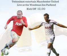 Manchester United face a tough trip to White Hart Lane for their final Premier League match of 2014. Is Harry Kane going to shoot Man Utd Down? Watch Live tomorrow with a few beers at the woody... #thewoodmaninn #forestofdean #football