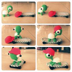 pattern by Sweet N' Cute Creations - Amigurumi Casey the Turtle