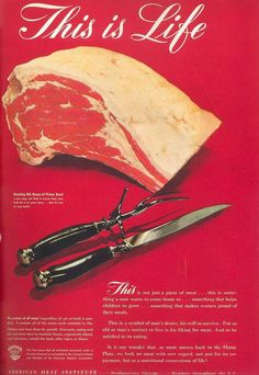 This is one of the best pre-Mad Men ad campaigns. This is a symbol of mans desire...