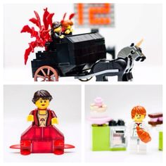 Introducing The Girl on Fire and The Boy with the Bread. Still continuing to create scenes from The Hunger Games with Lego. Lego, please make Lego sets.