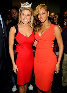 Miss America and Beyonce