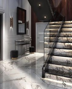 Home/Interior/Garden/Decoration Schöne Marmortreppe Abuse: Spotting Signs of Emotional Wear and Tear Luxury Interior, Decor Interior Design, Interior Architecture, Interior Decorating, Marble Interior, Interior Garden, Bathroom Interior, Modern Interior, Home Stairs Design