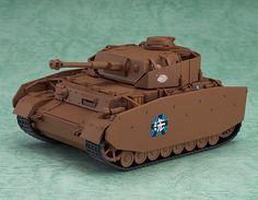 ねんどろいどもあ Ⅳ号戦車 D型改(H型仕様)
