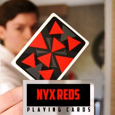 Nyx Reds Card Deck is a cardist's dream. These cards are sleek, modern and make a statement when performing card sleights and flourishes.
