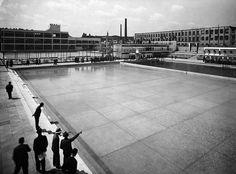 Public spa and swimming pools, Bohuslav Fuchs, Brno - Zabrdovice, Czechoslovakia, 1929