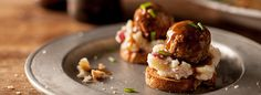 Create easy, tasty holiday appetizers using Cooked Perfect® meatballs for great homemade taste.