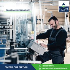 Future Choice Group assuring world class quality standards.  Future Choice implements strict beverage safety measure for its production line. Be our partners and deal with the leaders! Know more at www.futurechoicegroup.co.in.  #FranchiseBusiness | #DrinkingWater | #Business | #BusinessOpportunity