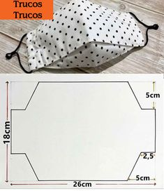 Small Sewing Projects, Sewing Hacks, Sewing Tutorials, Easy Face Masks, Diy Face Mask, Fabric Crafts, Sewing Crafts, Diy Crafts, Mouth Mask Fashion