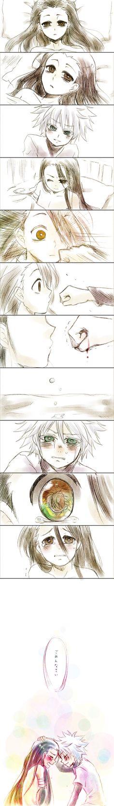 Gon Freecs and killua zoldyck very sad Hunter x Hunter Hisoka, Alluka Zoldyck, Gon Killua, Manga Anime, Sad Anime, Anime Art, Hunter X Hunter, Super Anime, Image Manga