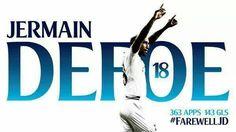 The day I was officially heartbroken! Farewell Jermain Defoe #18