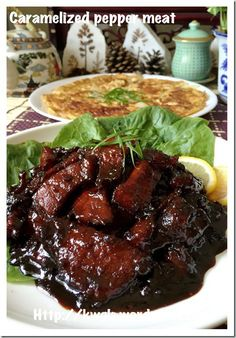 #guaishushu #kenneth_goh   #胡椒肉 Sweet Peppery Meat (胡椒肉)