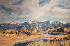 Winter Arroyo -- Louisa McElwain