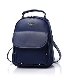 ac5b8320c054 Fashion Designer PU Leather Famous Brand White Mini Medium-Capacity Ladies  Backpack 7 Colors Ladies