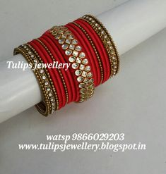 Come Check Out These Fantastic Jewelry Tips! Silk Thread Bangles Design, Silk Bangles, Silk Thread Earrings, Bridal Bangles, Thread Jewellery, Fabric Jewelry, Handmade Rakhi Designs, Handmade Jewelry Box, Bangles Making