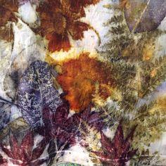Eco print on silk By Felt Fusion- Tash Wesp