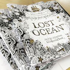 LOST OCEAN  By Johanna Basford.-