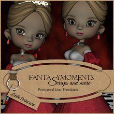 Poser Tubes Freebie | Fantasymoments: Poser Tubes Little Princess