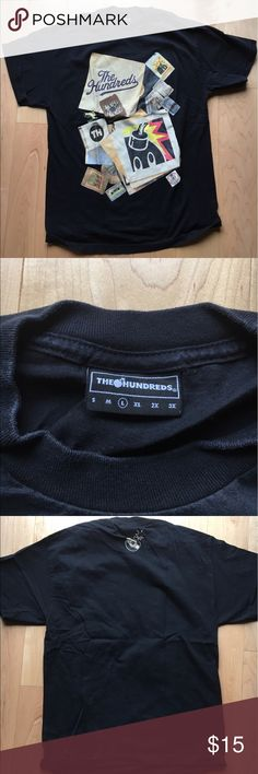 The Hundreds Vintage Records t-shirt size L 100% Authentic. Gently worn. Great condition. The Hundreds Shirts Tees - Short Sleeve