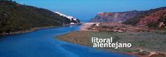 litoral alentejano - Pesquisa Google Countryside, Portugal, Tourism, Coast, World, Water, Outdoor, Littoral Zone, Turismo